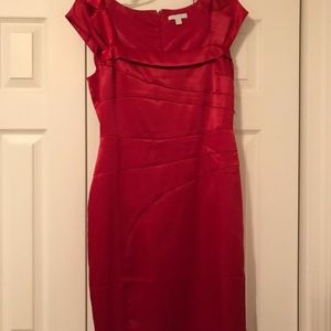 NWT Red New York & Company Dress